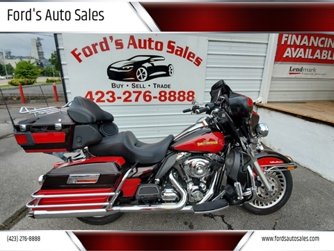 2010 Harley Davidson FLHTCU for sale at Ford's Auto Sales in Kingsport TN