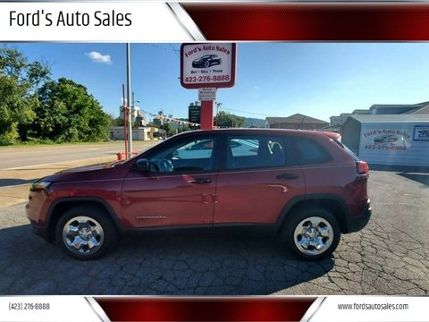 2014 Jeep Cherokee for sale at Ford's Auto Sales in Kingsport TN