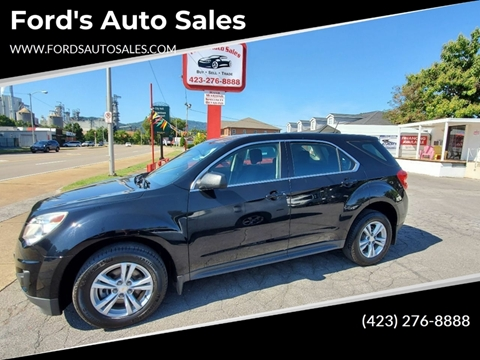 2013 Chevrolet Equinox for sale at Ford's Auto Sales in Kingsport TN