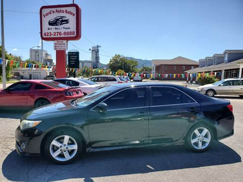 2012 Toyota Camry for sale at Ford's Auto Sales in Kingsport TN