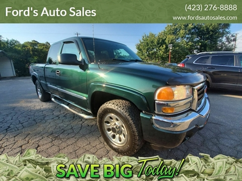 2006 GMC Sierra 1500 for sale at Ford's Auto Sales in Kingsport TN