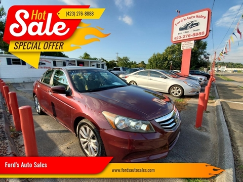 2011 Honda Accord for sale at Ford's Auto Sales in Kingsport TN
