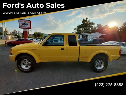 2001 Ford Ranger for sale at Ford's Auto Sales in Kingsport TN