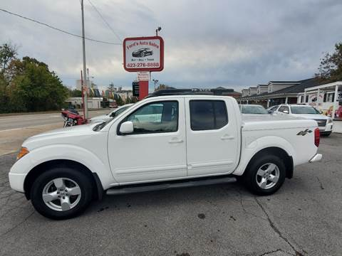 2005 Nissan Frontier for sale at Ford's Auto Sales in Kingsport TN
