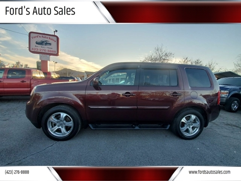 2012 Honda Pilot for sale at Ford's Auto Sales in Kingsport TN