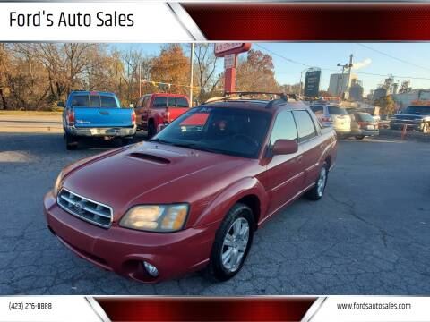 2005 Subaru Baja for sale at Ford's Auto Sales in Kingsport TN