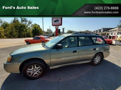 2003 Subaru Outback for sale at Ford's Auto Sales in Kingsport TN
