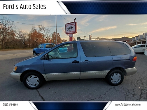 1999 Toyota Sienna for sale at Ford's Auto Sales in Kingsport TN