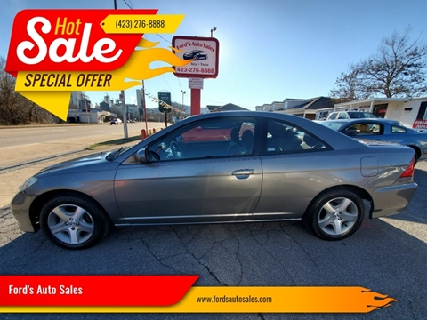 2005 Honda Civic for sale at Ford's Auto Sales in Kingsport TN