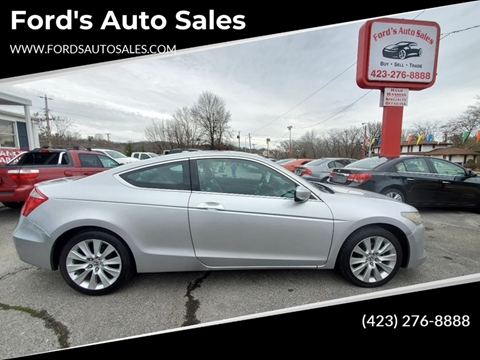 2009 Honda Accord for sale at Ford's Auto Sales in Kingsport TN