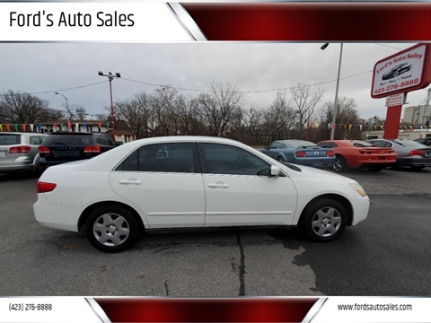 2005 Honda Accord for sale at Ford's Auto Sales in Kingsport TN