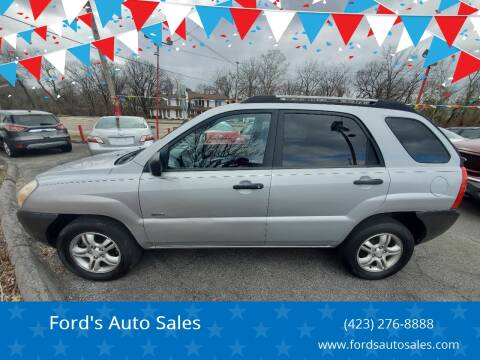 2007 Kia Sportage for sale at Ford's Auto Sales in Kingsport TN