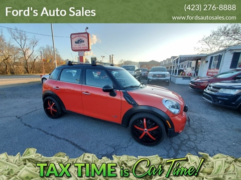 2011 MINI Cooper Countryman for sale at Ford's Auto Sales in Kingsport TN