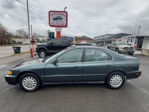 1996 Honda Accord for sale at Ford's Auto Sales in Kingsport TN