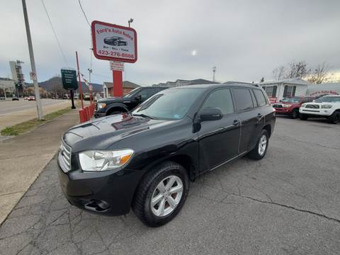 2009 Toyota Highlander for sale at Ford's Auto Sales in Kingsport TN