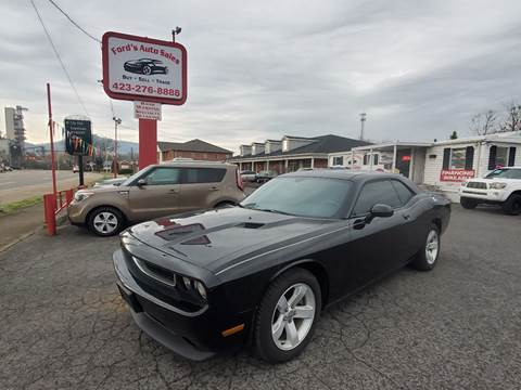 2012 Dodge Challenger for sale at Ford's Auto Sales in Kingsport TN