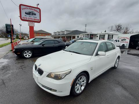 2010 BMW 5 Series for sale at Ford's Auto Sales in Kingsport TN