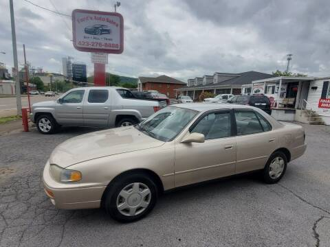 1996 Toyota Camry for sale at Ford's Auto Sales in Kingsport TN