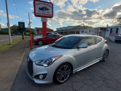 2016 Hyundai Veloster for sale at Ford's Auto Sales in Kingsport TN
