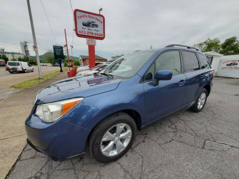 2014 Subaru Forester for sale at Ford's Auto Sales in Kingsport TN