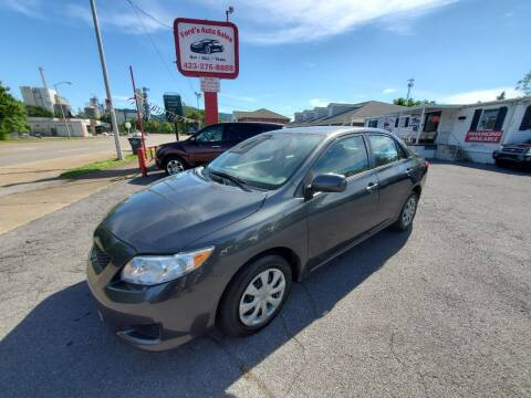 2010 Toyota Corolla for sale at Ford's Auto Sales in Kingsport TN