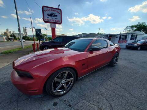 2010 Ford Mustang for sale at Ford's Auto Sales in Kingsport TN