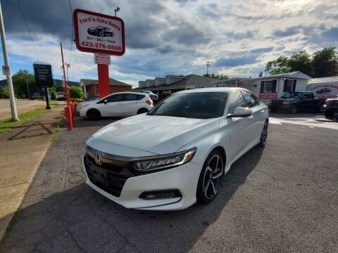 2019 Honda Accord for sale at Ford's Auto Sales in Kingsport TN