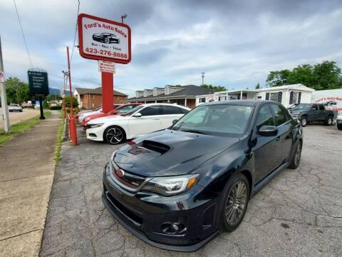 2013 Subaru Impreza for sale at Ford's Auto Sales in Kingsport TN