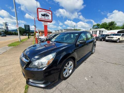 2013 Subaru Legacy for sale at Ford's Auto Sales in Kingsport TN