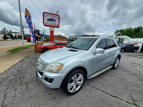 2011 Mercedes-Benz M-Class for sale at Ford's Auto Sales in Kingsport TN