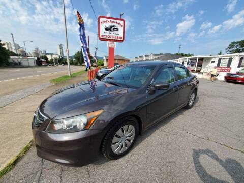 2012 Honda Accord for sale at Ford's Auto Sales in Kingsport TN