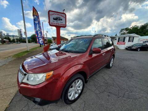 2011 Subaru Forester for sale at Ford's Auto Sales in Kingsport TN
