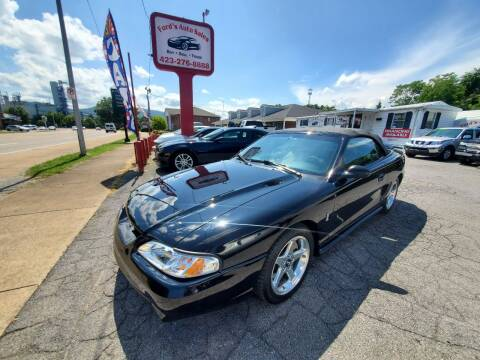 1995 Ford Mustang SVT Cobra for sale at Ford's Auto Sales in Kingsport TN