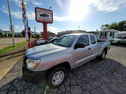 2013 Toyota Tacoma for sale at Ford's Auto Sales in Kingsport TN