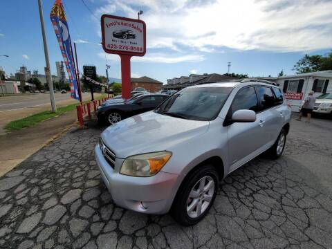 2008 Toyota RAV4 for sale at Ford's Auto Sales in Kingsport TN