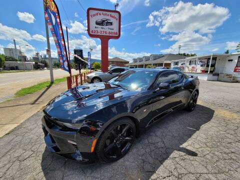 2017 Chevrolet Camaro for sale at Ford's Auto Sales in Kingsport TN