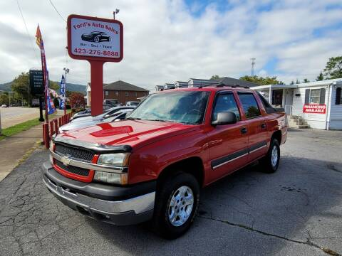 2004 Chevrolet Avalanche for sale at Ford's Auto Sales in Kingsport TN