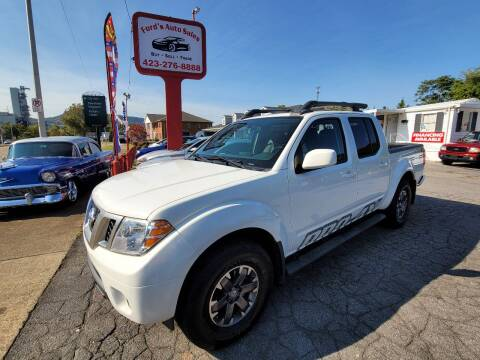 2016 Nissan Frontier for sale at Ford's Auto Sales in Kingsport TN
