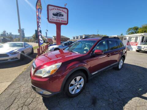 2011 Subaru Outback for sale at Ford's Auto Sales in Kingsport TN