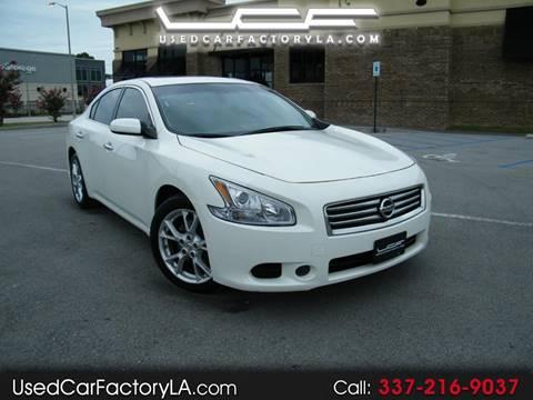 Nissan Lafayette La >> Used Nissan Maxima For Sale In Lafayette La Carsforsale Com