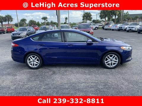 2016 Ford Fusion for sale in Lehigh Acres, FL