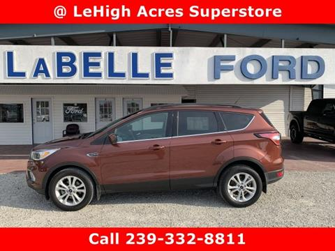 2018 Ford Escape for sale in Lehigh Acres, FL