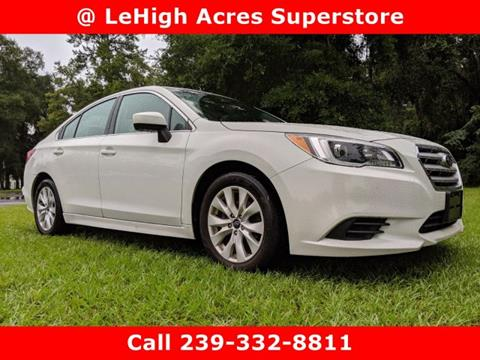 2017 Subaru Legacy for sale in Lehigh Acres, FL