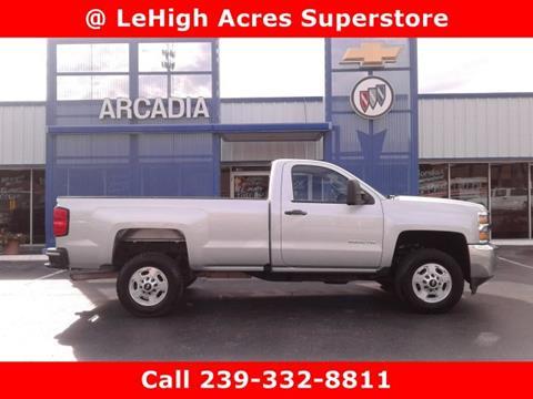 2016 Chevrolet Silverado 2500HD for sale in Lehigh Acres, FL