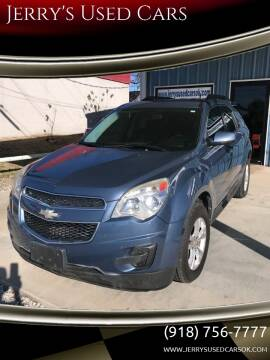 2012 Chevrolet Equinox LT for sale at Jerry's Used Cars in Okmulgee OK