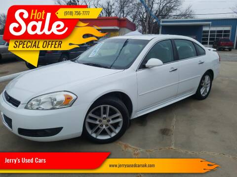 2012 Chevrolet Impala LTZ for sale at Jerry's Used Cars in Okmulgee OK