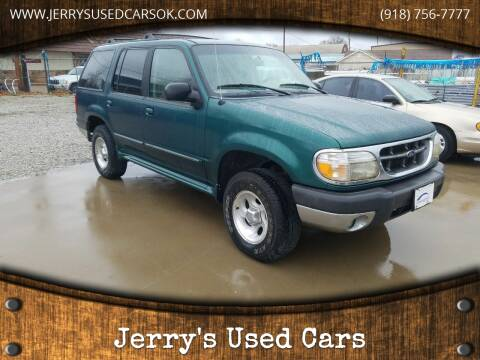 1999 Ford Explorer XLT for sale at Jerry's Used Cars in Okmulgee OK