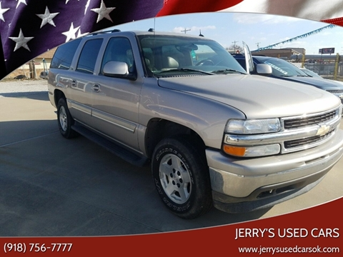 2005 Chevrolet Suburban 1500 LT for sale at Jerry's Used Cars in Okmulgee OK