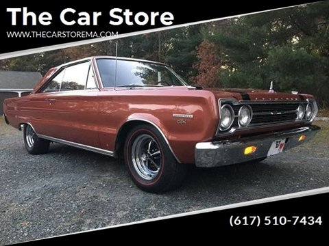 1967 Plymouth GTX for sale at The Car Store in Milford MA