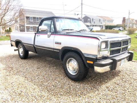 1991 Dodge RAM 250 for sale at The Car Store in Milford MA